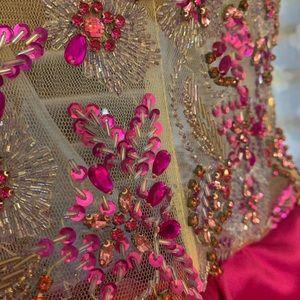 Jovani fuchsia dress